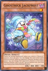 Ghostrick Jackfrost - LVAL-ENDE2 - Ultra Rare on Channel Fireball