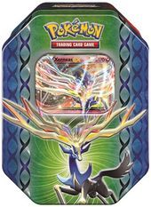 Pokemon Legends of Kalos Xerneas EX Tin