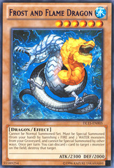 Frost and Flame Dragon - Purple - DL15-EN005 - Rare - Unlimited Edition on Channel Fireball
