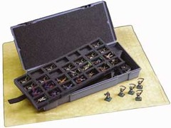 Large Figure Storage Box: 56 Larger 25mm Figure Capacity