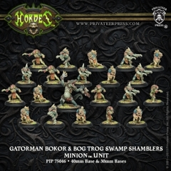 Gatorman Bokor and Bog Swamp Shamblers