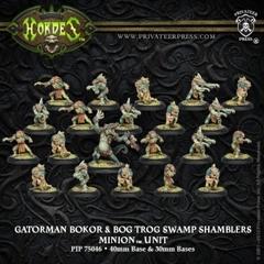 Gatorman Bokor and Bog Swamp Shamblers