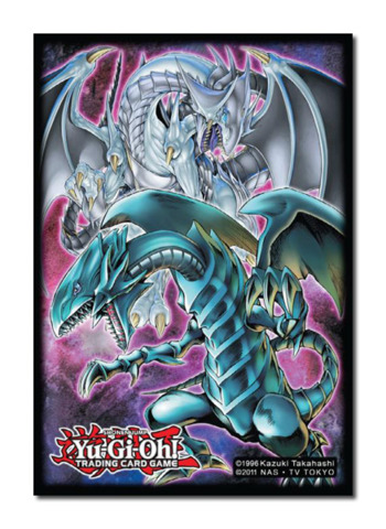 Konami Yu-Gi-Oh! Double Dragon Card Sleeves 50ct