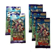 Cardfight Vanguard Sealed Blue Storm Armada Booster Pack 5 Pack Lot