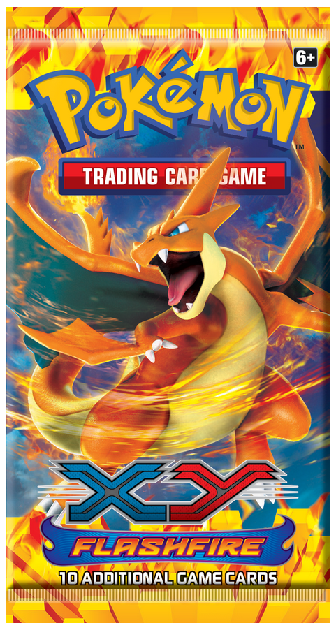 Pokemon XY2 Flashfire Booster Pack