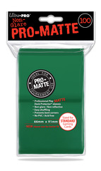 Ultra Pro - Standard Size Pro-Matte 100 ct Sleeves - Green