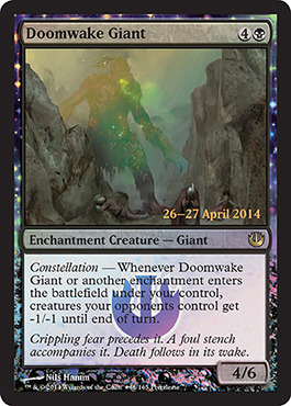 Doomwake Giant (Journey into Nyx Prerelease)