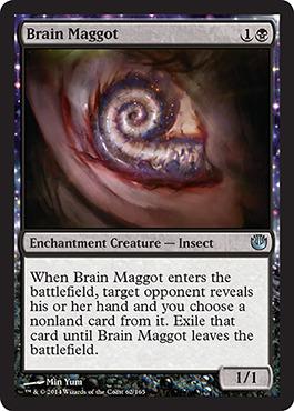 Brain Maggot - Foil
