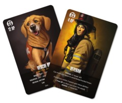 Flash Point: Fire Rescue  Veteran and Rescue Dog