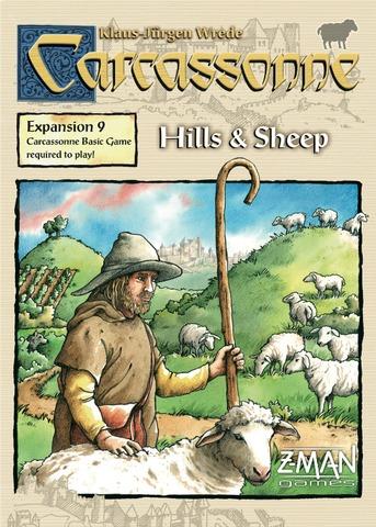Carcassonne: Hills & Sheep