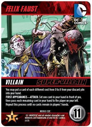 DC Comics Deck-Building Game: Felix Faust promo