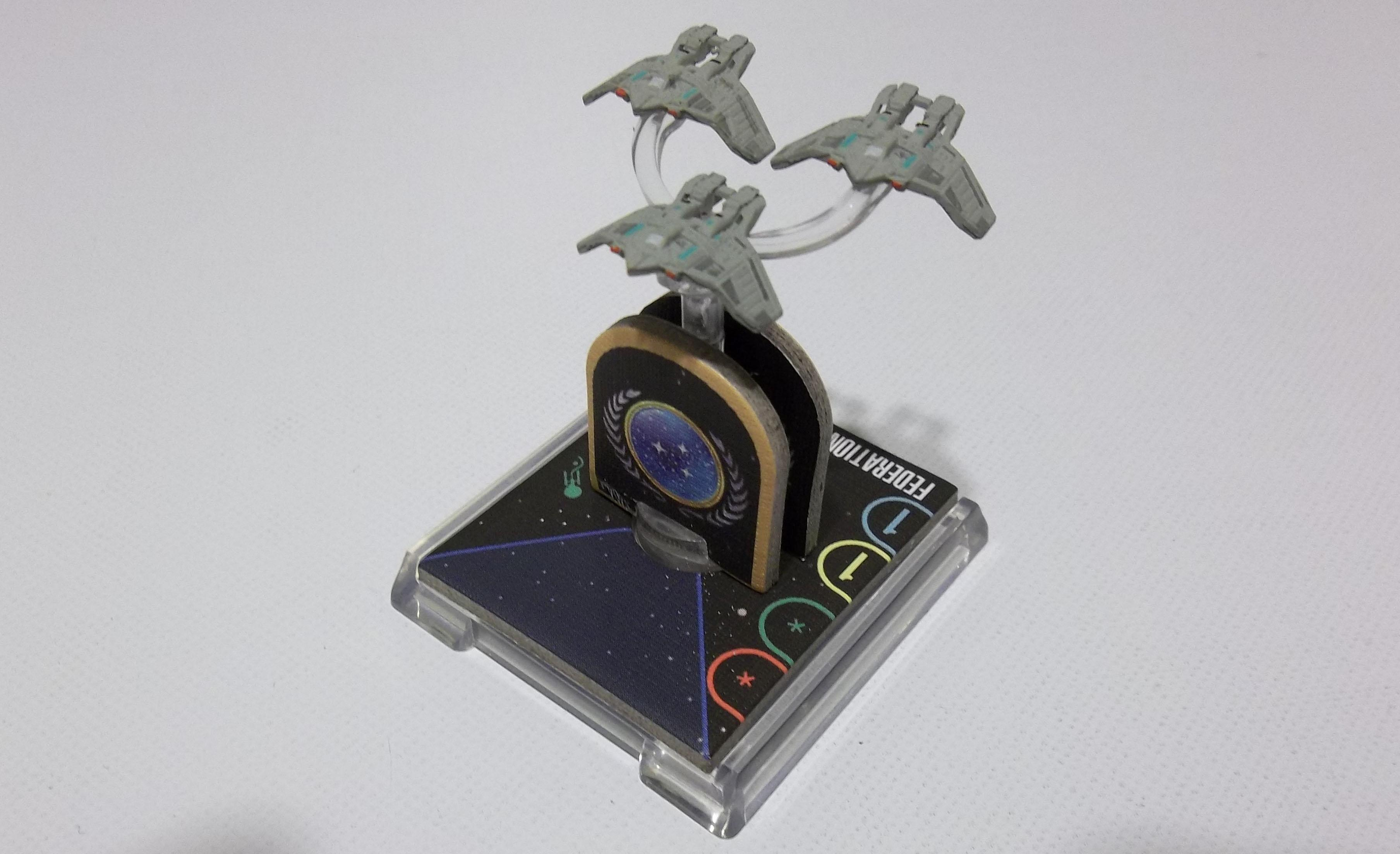 Star Trek: Attack Wing  Federation Attack Fighters Resource