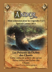 Legends of Andor: The Gifts of the Tree of Chants