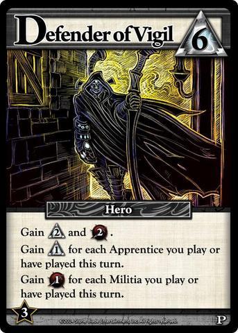 Ascension: Chronicle of the Godslayer  Defender of Vigil Promo