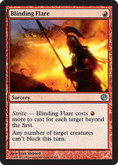 Blinding Flare - Foil on Channel Fireball
