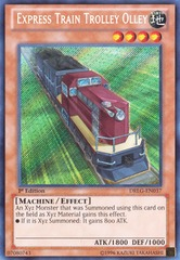 Express Train Trolley Olley - DRLG-EN037 - Secret Rare - 1st Edition on Channel Fireball