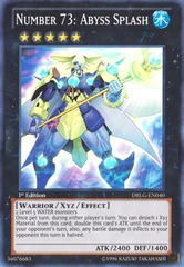 Number 73: Abyss Splash - DRLG-EN040 - Super Rare - 1st Edition
