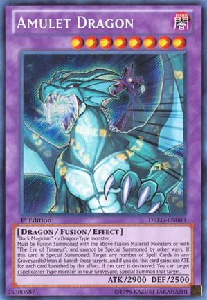 Amulet Dragon - DRLG-EN003 - Secret Rare - 1st Edition