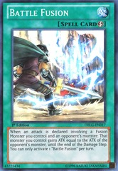 Battle Fusion - DRLG-EN017 - Super Rare - 1st Edition on Channel Fireball