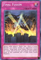 Final Fusion - DRLG-EN018 - Super Rare - 1st Edition