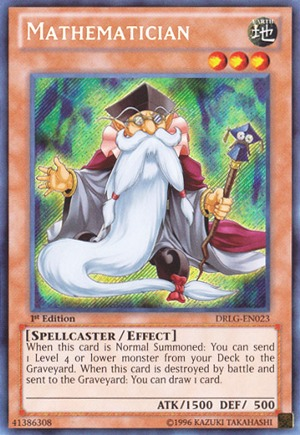 Mathematician - DRLG-EN023 - Secret Rare - 1st Edition