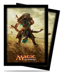 Ultra Pro Journey into Nyx Sleeves - Ajani, Mentor of Heroes (80 ct.)