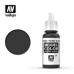 VAL70855 Vallejo Model Color Black Glaze 17ml (205)