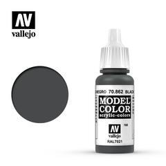 VAL70862 Vallejo Model Color Black Grey 17ml (168)