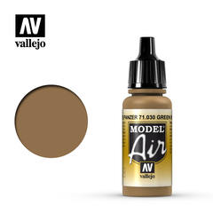 Vallejo Model Air - Brown Green - VAL71030 - 17ml
