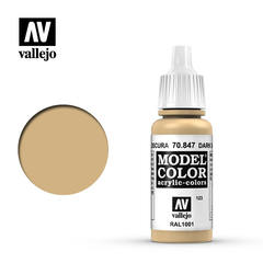 VAL70847 Vallejo Model Color Dark Sand 17ml (123)