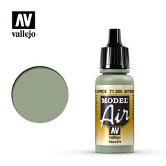 Vallejo Model Air - Interior Grey Green - VAL71305 - 17ml