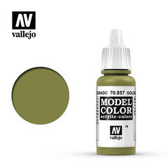 VAL70857 Vallejo Model Color Golden Olive 17ml (079)