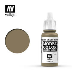 VAL70988 Vallejo Model Color Khaki 17ml (115)