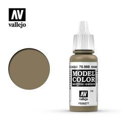 Vallejo Model Color - Khaki - VAL70988 - 17ml