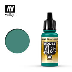 "Vallejo Model Air -  Cockpit Emerald Green ""Faded"" - VAL71331 - 17ml"