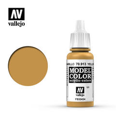 VAL70913 Vallejo Model Color Yellow Ochre 17ml (121)