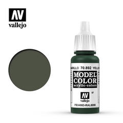 VAL70892 Vallejo Model Color Yellow Oliva 17ml (087)