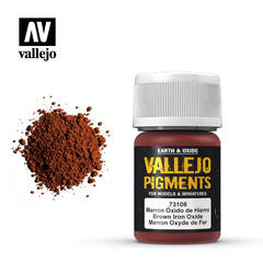 Vallejo Pigments - Brown Iron Oxide - VAL73108 - 17ml