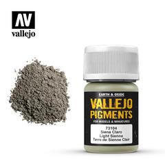 Vallejo Pigments - Light Sienna - VAL73104 - 17ml