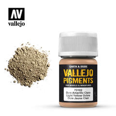 Vallejo Pigments - Light Yellow Ochre - VAL73102 - 17ml