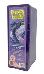 Dragon Shield Four-Compartment Storage Box - Purple