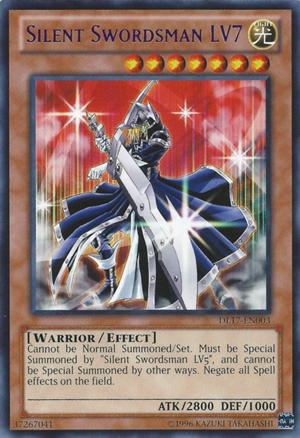 Silent Swordsman LV7 - Blue - DL17-EN003 - Rare - Unlimited Edition