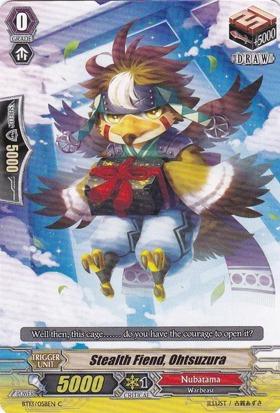 Stealth Fiend, Ohtsuzura - BT13/058EN - C