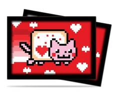 ValentNyan Cat Small Deck Protectors 60ct on Channel Fireball