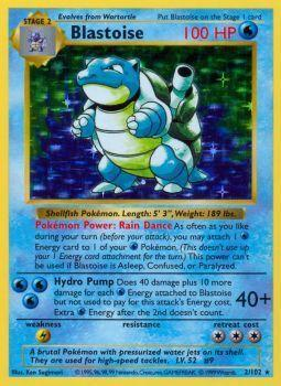 Blastoise - 2/102 - Holo Rare - Shadowless Edition