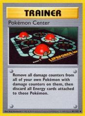 Pokemon Center - 85/102 - Uncommon - Shadowless Edition