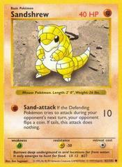 Sandshrew - 62/102 - Common - Shadowless Edition