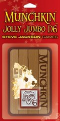 Munchkin Jolly Jumbo D6 - Red