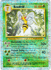 Beedrill - 20/110 - Rare - Reverse Holo on Channel Fireball