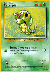 Caterpie - 69/110 - Common - Reverse Holo